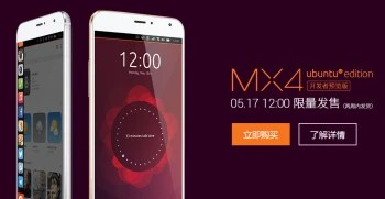 Ubuntu powered version of the Meizu MX4 flagship is now available
