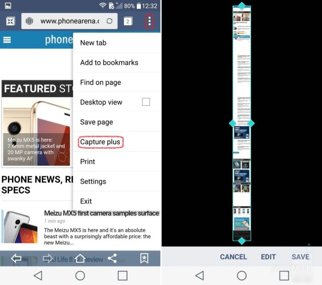 Screenshot entire web pages easily