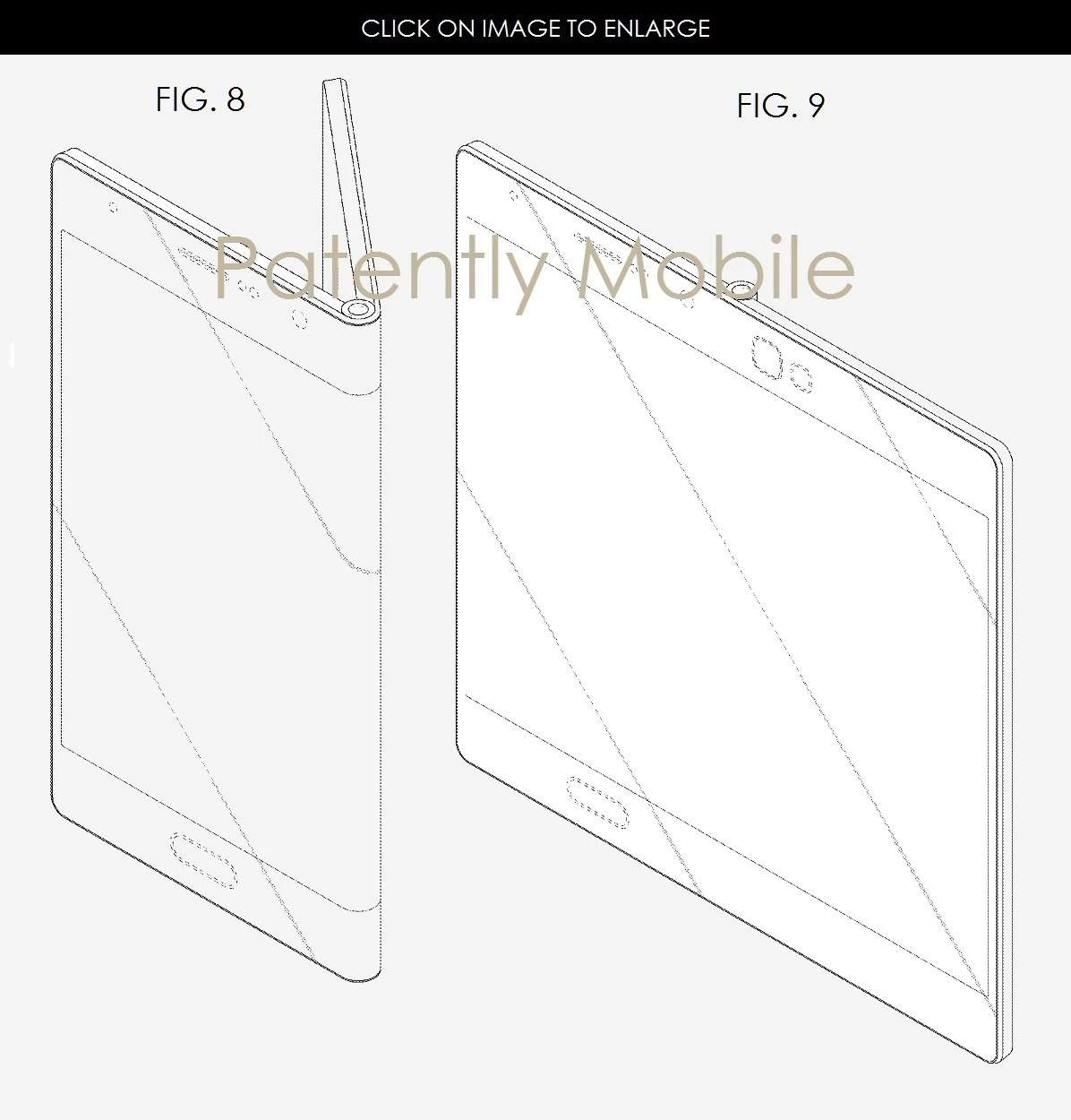 Samsung Patent Depicts How A 5 Fold Out Galaxy X Would