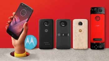 Moto Z2 Play goes official: thinner and lighter, still excellent battery life