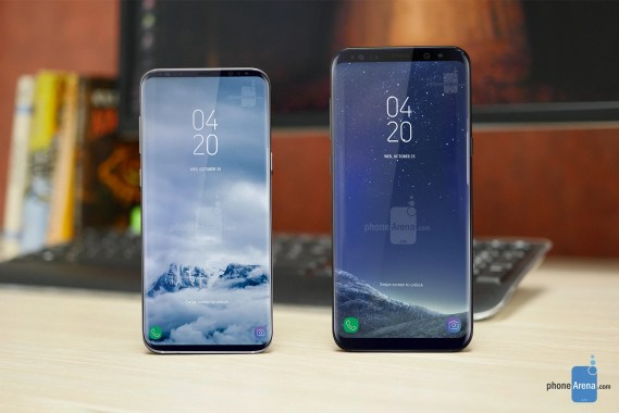 Galaxy-S9-concept-left-next-to-a-Galaxy-S8 Android Uncategorized  Samsung Galaxy S9 and S9+ rumor review: Specs, design, features, price and release date