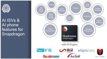 The new Snapdragon 710 mobile platform includes a multi-core AI engine