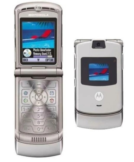 Remember the RAZR V3?