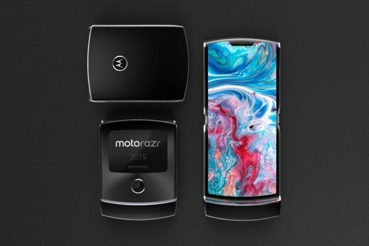 Motorola Razr 2019 koncept