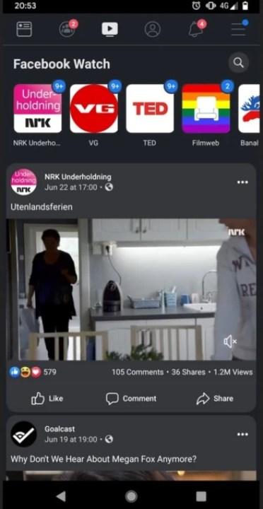 fbdark - بدء تجربة الوضع المظلم على تطبيق فيسبوك أندرويد – إليك كيف سيبدو