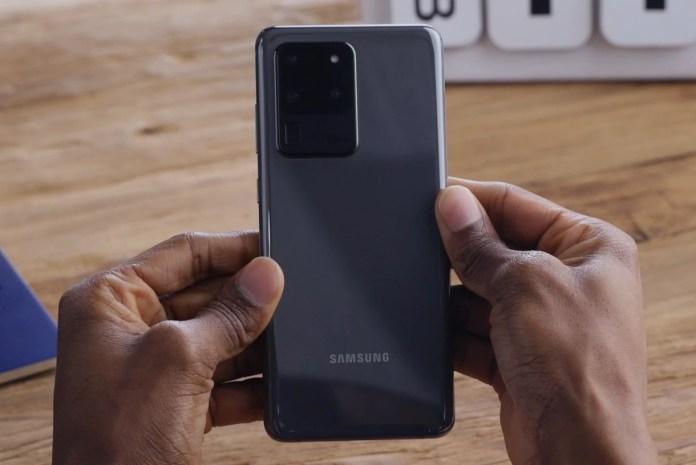 Samsung Galaxy S20 Ultra  Galaxy S20 Ultra: tudo o que precisa saber sobre o aparelho Hardware