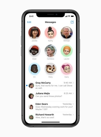 Messages in iOS 14 - Apple iOS 14 Preview: Hands-on with all the new features