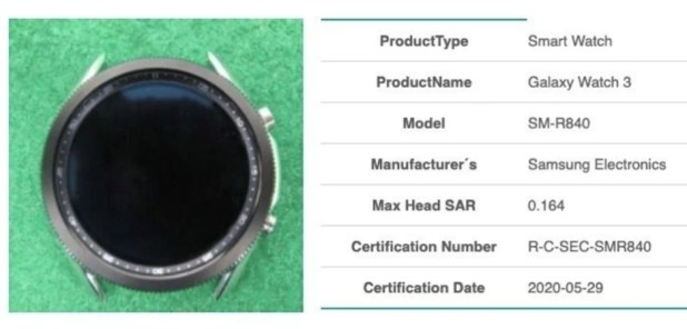 Image of the Galaxy Watch 3 previously revealed: High-quality rendering leaked does justice to the beautiful Samsung Galaxy Watch 3