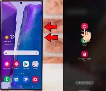 Cách tắt Galaxy Note 20 - Cách tắt và khởi động lại Galaxy Note 20 và Note 20 Ultra