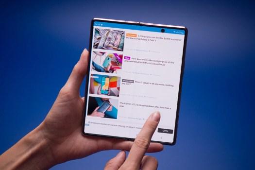 Samsung Galaxy Z Fold 2 battery life test: unhinged