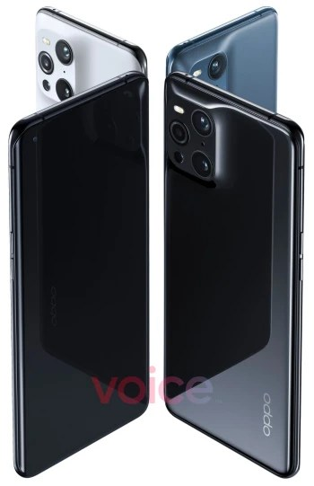 Oppo Find X3 Pro 5G leaks in full with iPhone-like camera, curved-edge display