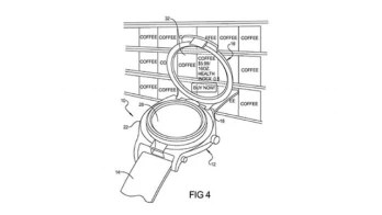 Google's patent was granted for a smart-watch with an augmented reality reader