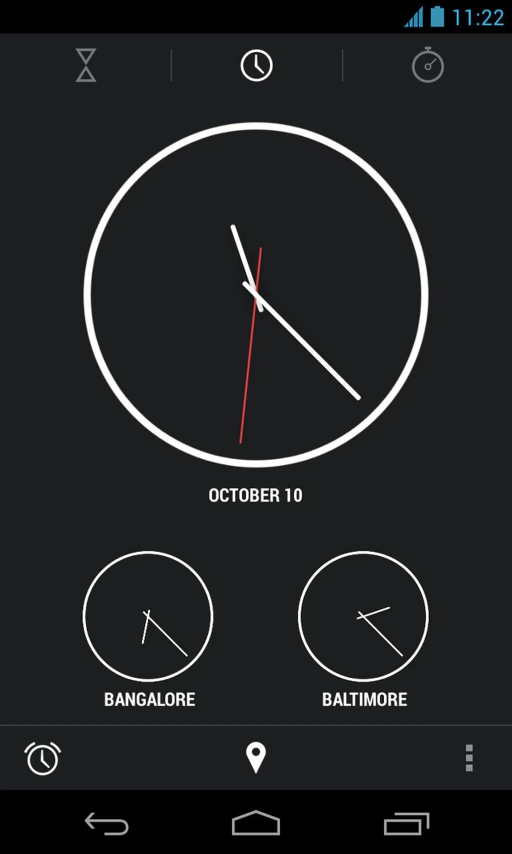 New clock app