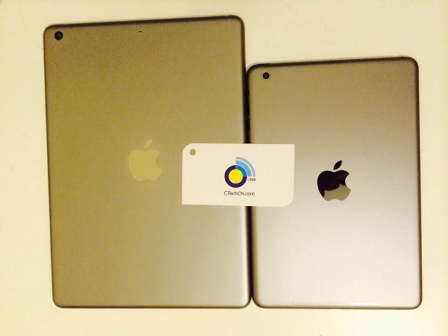 Gold iPad 5 and iPad mini 2 leak out - Gold iPad 5 and iPad mini 2 leak out, there will be bling for all