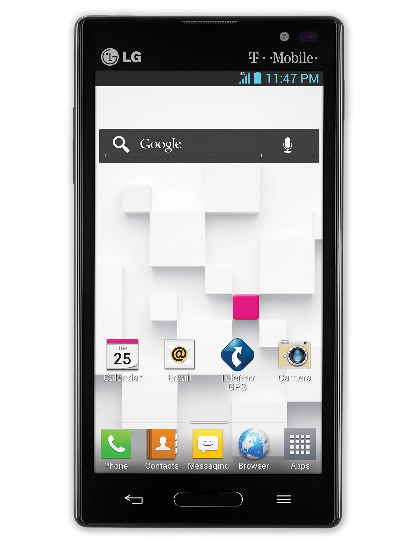 Lg Optimus Cell Phone Symbols