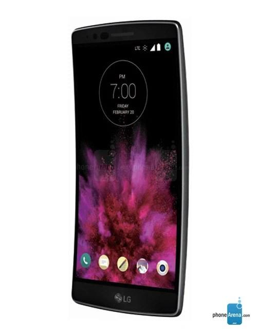 LG G Flex 2 tampak samping kiri