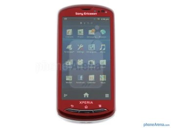 """The 3.7"""" Reality Display sports 480x854 resolution - Sony Ericsson Xperia pro Review"""