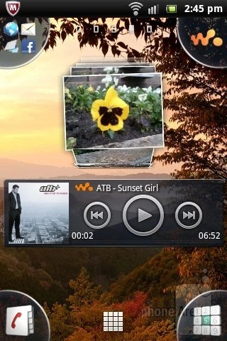 The Sony Ericsson Live with Walkman runs the Timescape interface installed on top of Android 2.3 Gingerbread - Sony Ericsson Live with Walkman Review