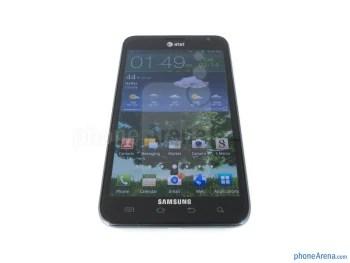 "The 5.3"" WXGA Super AMOLED display of the Samsung Galaxy Note LTE - Samsung Galaxy Note LTE Review"
