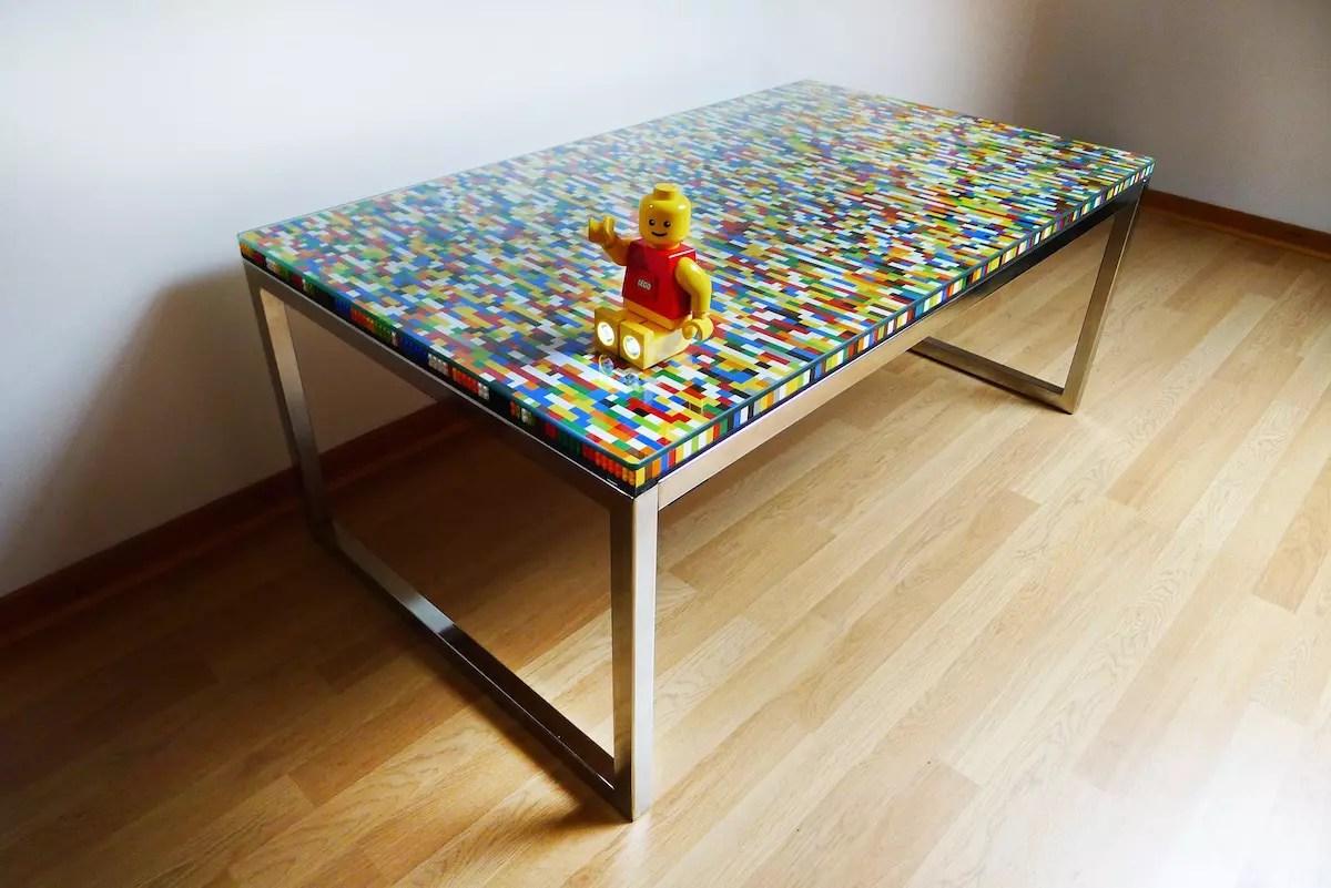 Une Table Basse En Lego Des Tables Basses Faciles