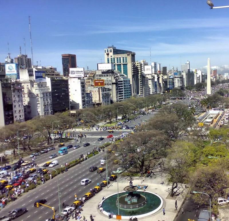 De Buenos Plus La Route La Du Large Julio Monde Argentine Aires 9