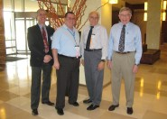 ICNS 2012: Ben Levy, Tom Redling, Tony Rosetti, Ellis Hitt