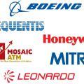 Boeing, Frequentis, Honeywell, Mosaic ATM, MITRE, Leonardo