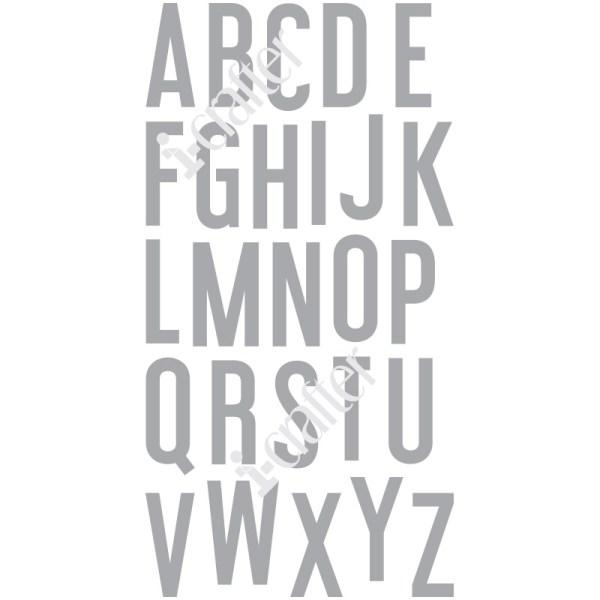Alphabet, Haley stamps