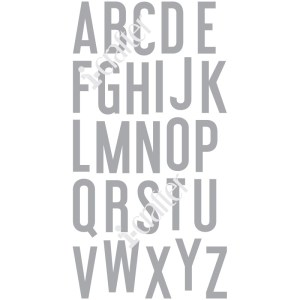 Alphabet, Haley stamps