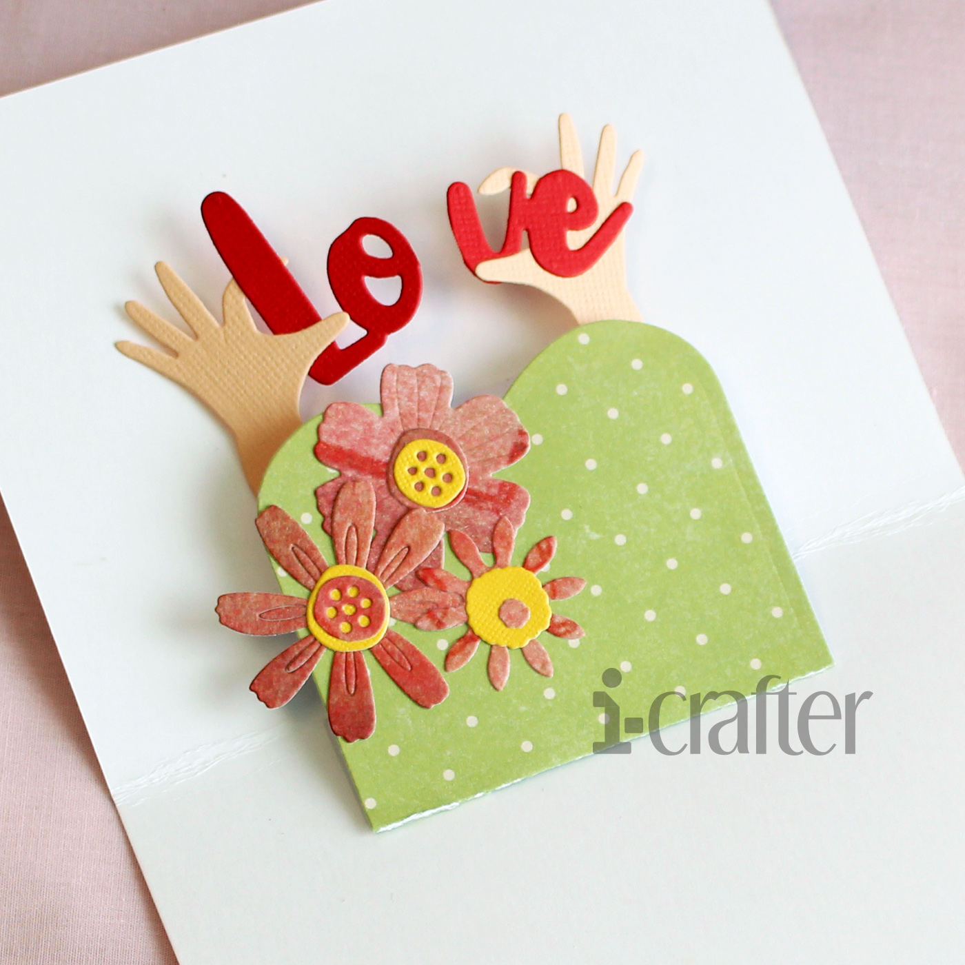 Heart Hands Wiper Insert