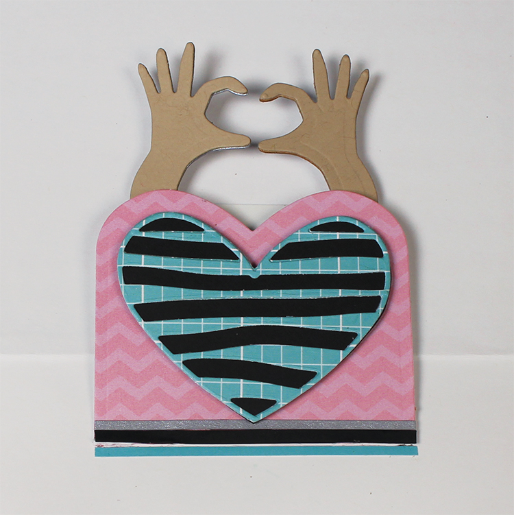 Heart Hands wiper