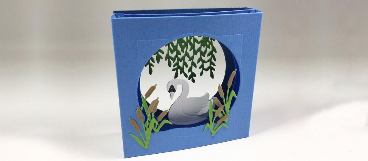 Tunnel Card Swan tutorial