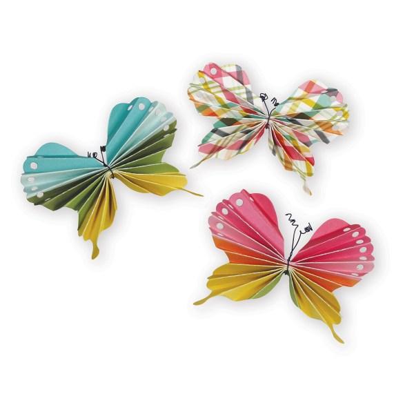 Folded Butterfly, 3D