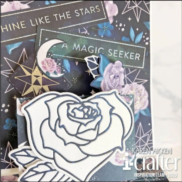 i-crafter rose heart