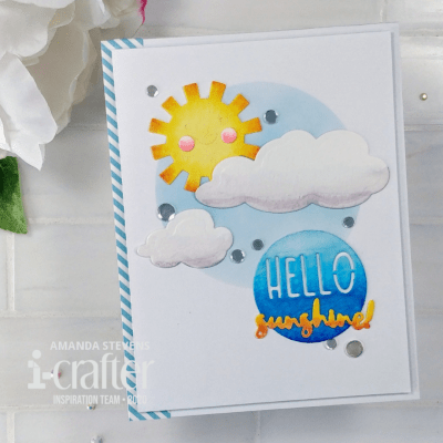 Amanda Stevens Hello Sunshine Quick and Easy Card