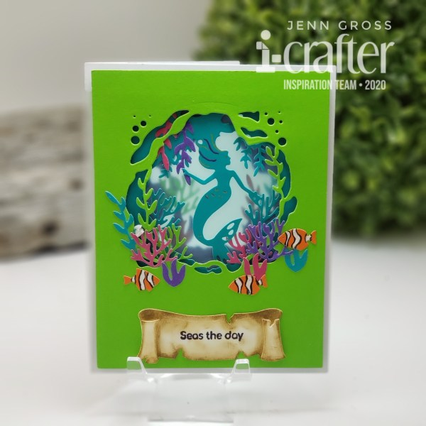 Tunnel Card, Mermaid