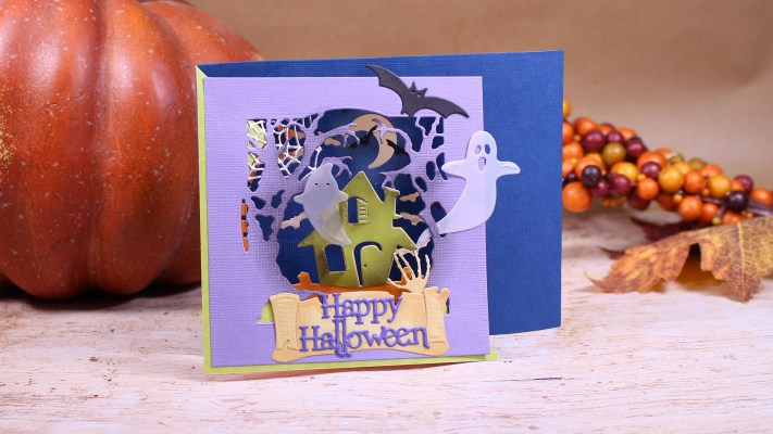 Tunnel Card, Halloween