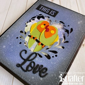 Tunnel Card, Love Birds