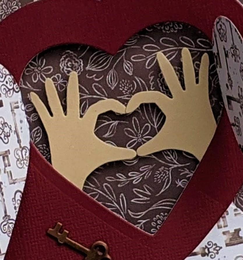 Heart Hands Wiper Insert