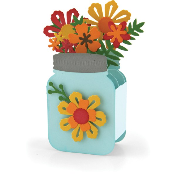 Mason Jar Box Card