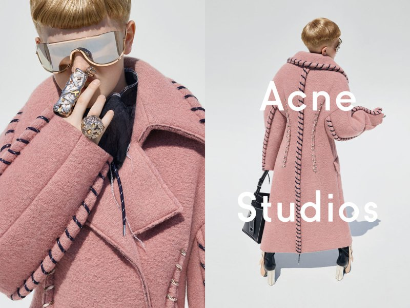 acne owner's 11-year-old son rocks heels and handbag in new campaign