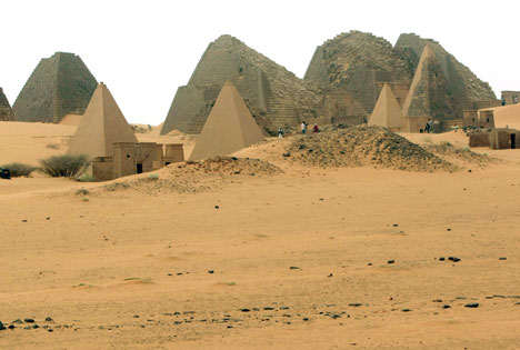 Forgotten Tourist Destinations Meroe Sudan