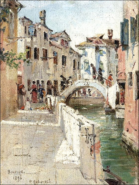 Venice on a Budget Venice Painting