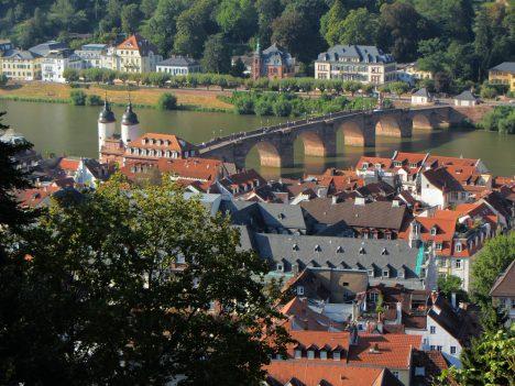 Germanys Stereotype Tourist Photos Heidelberg in Baden-Württemberg