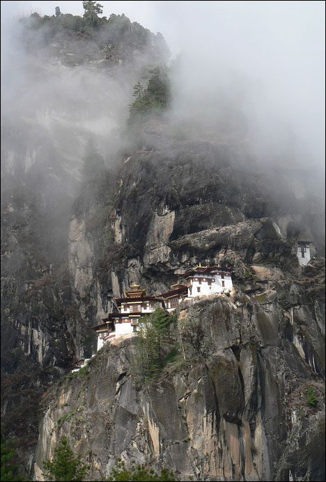 Bhutan last frontier world famous Taktshang Monastry
