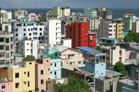 Disappointing travel destination Male Maldives skyline