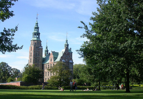 Copenhagen city break Rosenborg Castle in Copenhagen