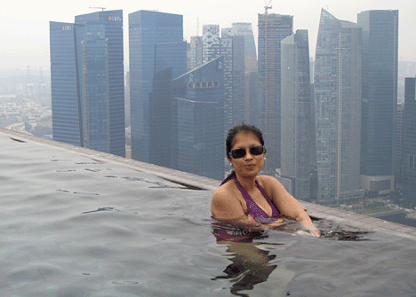 7 tourist destinations avoid Amazing Pool Singapore
