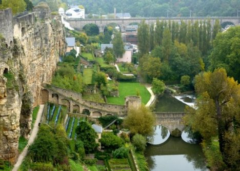 Hidden tourist spots Luxembourg Casemates du Bock
