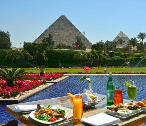 Mena House Oberoi, Pyramids of Giza